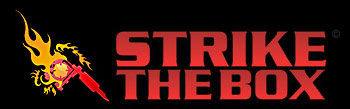 strike the box firefighter tattoos logo