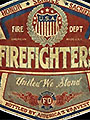 Firefighter Badge Decal Collection