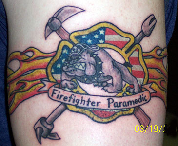 Strike The Box  Fire Fighter Tattoos &amp More