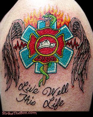 Tattoos on Ems Tattoo