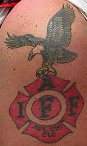 Strike the box fire fighter tattoos more for Bradenton tattoo shops