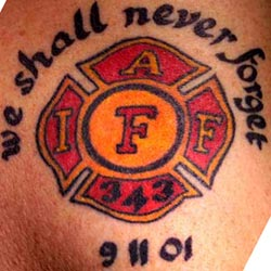 strike the box fire fighter tattoos more