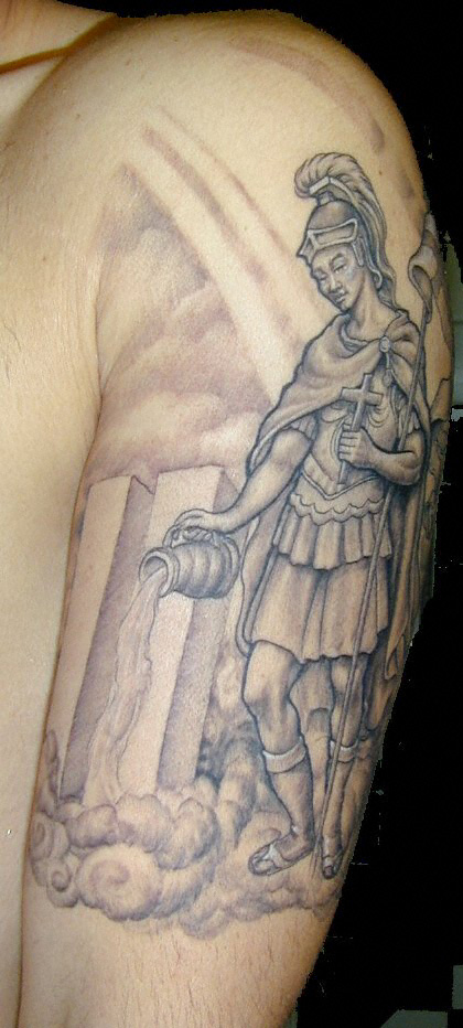St Florian Tattoo