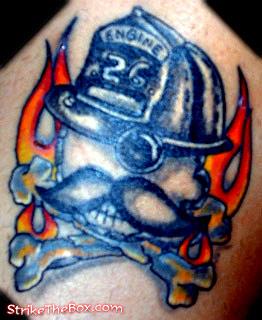 Description Natty Boh Baltimore Icon As A Skull Firefighter