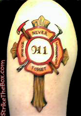 spiritual firefighter tattoos