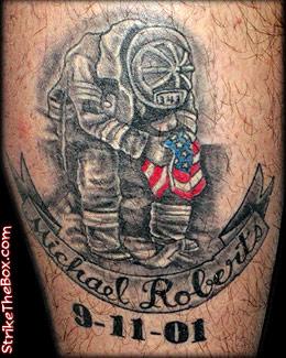 9 11 memorial tattoo