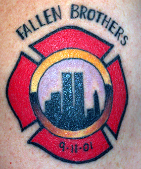 Strike the box fire fighter tattoos more for Atomic tattoo orlando
